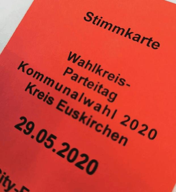 Kreisparteitag in Euskirchen: Kandidatinnen und Kandidaten der SPD für die Kreistagswahl gewählt