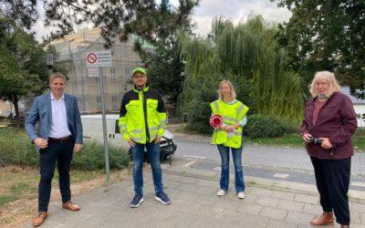 Landratskandidat Markus Ramers besuchte Vernicher Schülerlotsen