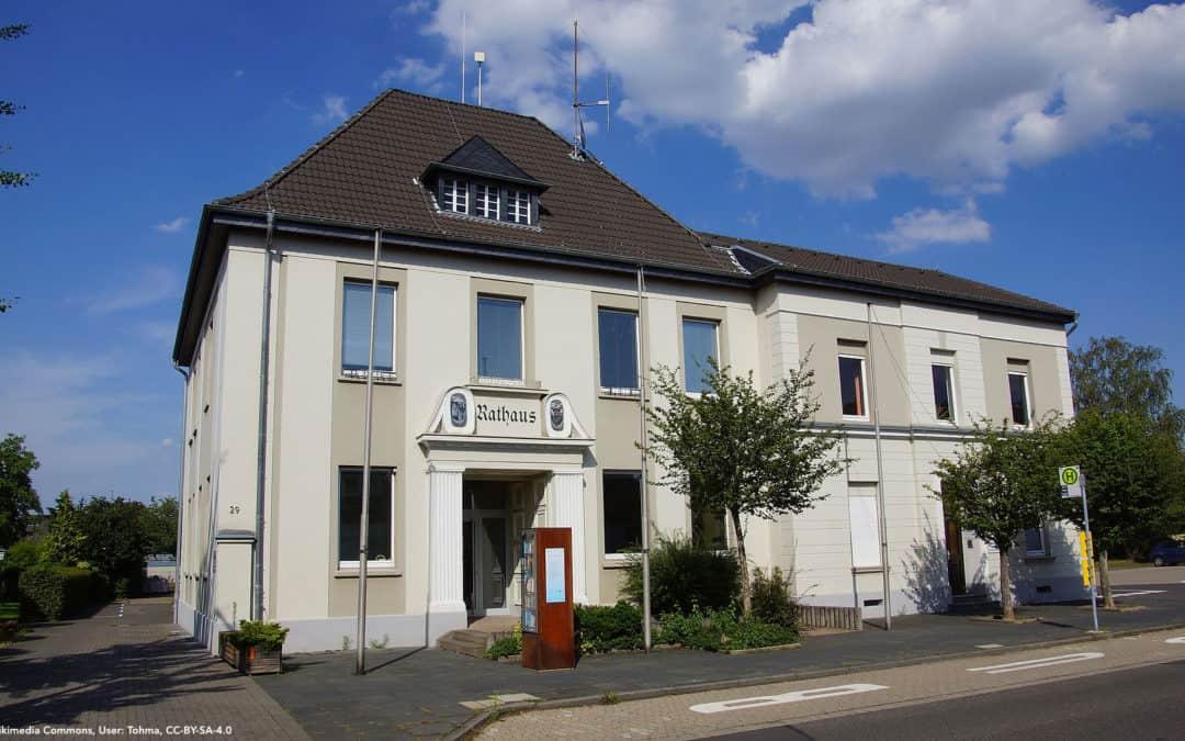 Mögliche Wiederwahl des Ersten Beigeordneten der Gemeinde Weilerswist dem neuen Rat überlassen!