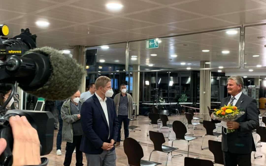 Markus Ramers ist neuer Landrat im Kreis Euskirchen
