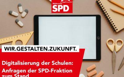 """Anfragen zum Sachstand """"Digitalisierung der Schulen"""" gestellt"""