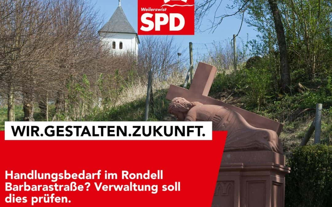 Handlungsbedarf im Rondell Barbarastraße?