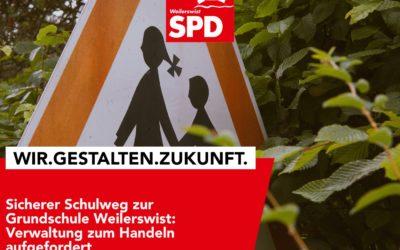Sichere Schulwege zur Grundschule Weilerswist – Umsetzung verkehrsregelnder Maßnahmen gefordert