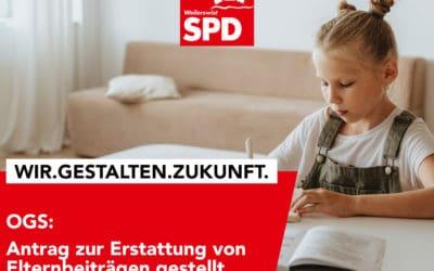 SPD beantragt Erstattung von OGS-Elternbeiträgen während pandemischer Lage – Schwarz-gelbe Landesregierung muss sich endlich bewegen!
